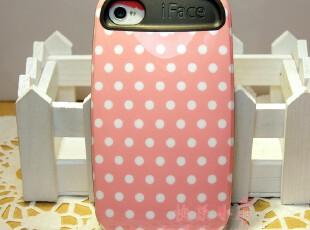正品韩国iface iphone4 4s 保护壳 手机壳 肥皂盒3代 甜美波点,数码周边,