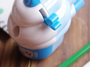 广博冰激凌卡通削笔机手摇削笔器 卷笔刀卷笔器 日韩学生办公文具,文具,