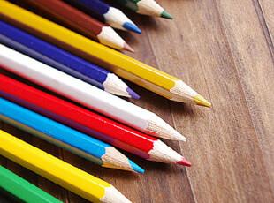 真彩MrCUVA铅笔 创意彩铅儿童彩色铅笔18色 日韩流行学生办公文具,文具,
