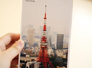 zaa杂啊 去一场我们的旅行-东京篇 盒装邮寄明信片 风景卡片 30张,文具,