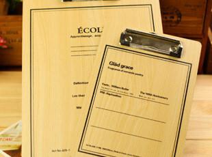 【39元包邮】韩国正品 木质精美 文件夹写字板 速写板 画板,文具,