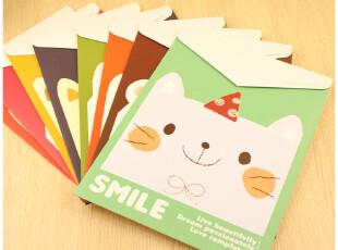 贝贝兔♥韩国文具 萌萌动物 可爱文件袋 档案袋 文件夹 文件套,文具,