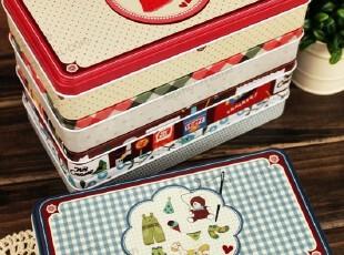 超值特推〓 LOME系列 铅笔盒文具盒糖果饼干收纳半岛铁盒生日礼物,文具,