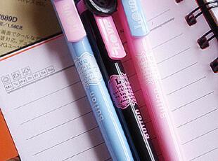 超萌可爱纽扣笔圆珠笔原子笔 按制式圆珠笔 日韩流行学生办公文具,文具,