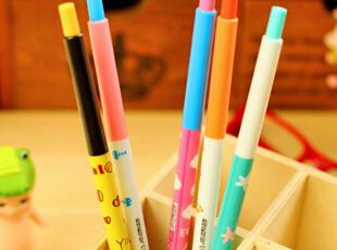 【满39包邮】日韩国文具 可爱笔 创意 圆珠笔 细长彩色动物款,文具,