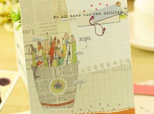 【满39包邮】韩国文具morning glory 快乐生活 1000W 2信封+4信纸,文具,