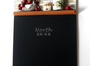 【出口法国余单超级特惠】法式乡村厨房系列小黑板留言板 苹果款,文具,