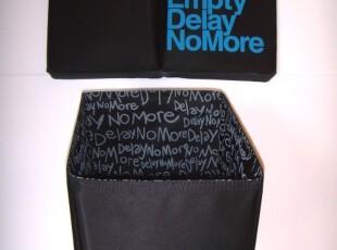 GOD/住好D Delay No More 方形尼龙布垃圾筒 3色,文具,