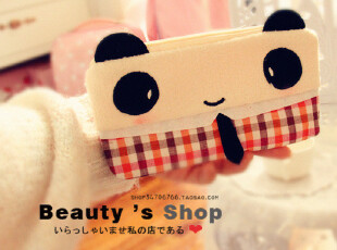 特 熊猫绅士和猫咪小姐の笔袋/PSP包,文具,