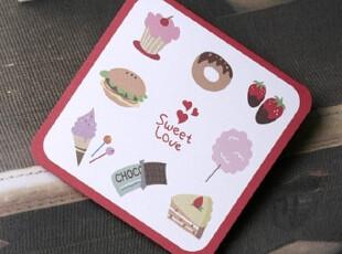 公主梦想●韩国家居*迷你卡片|贺卡|附信封*甜蜜的爱C1453,文具,