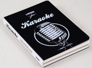 特价 原创document生活主题系列256页K歌笔记-KARAOKE,文具,