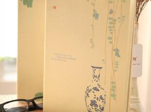 zaa杂啊 中国风--青花瓷封面 线装笔记本 单行线本子 16k大本,文具,