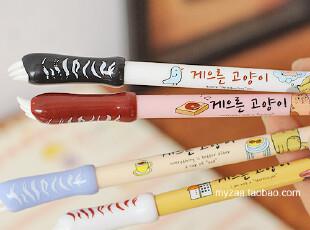 zaa杂啊 可爱猫爪中性笔 韩国文具创意抓痒水笔 0.38黑色笔芯 特,文具,