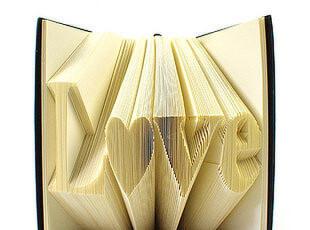 书写二人世界的情感,纯手工折出来的【爱之丘比特·LOVE】日记本,文具,