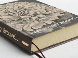zaa杂啊 九口山原创系列-Imaginote精装记事本牡丹 硬皮笔记本子,文具,