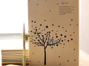 zaa杂啊 悄然流逝的日子-可爱时光系列笔记本子作业本文具 16k大,文具,