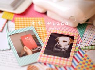 zaa杂啊 拍立得mini相纸专用贴纸 3寸可爱照片装饰贴纸 20张/套,文具,