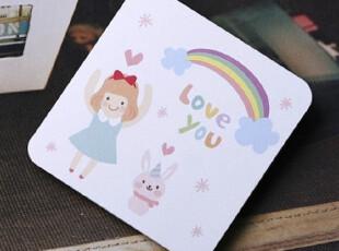●公主梦想●韩国家居*迷你卡片|贺卡|附信封*i love you*C1456,文具,
