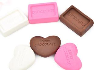 UMI韩国款超可爱卡通仿真浪漫费列罗巧克力橡皮檫(6个一组),文具,