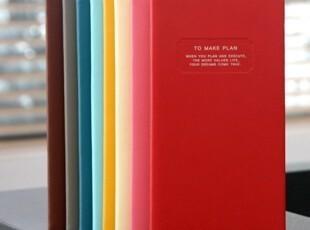 绝对正品韩国monopoly 2012年TO MAKE PLAN轻薄日记本 手拿本 8色,文具,