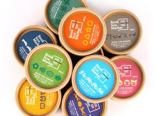 韩国Bookzzi ● 迷你书签 Book Line Marker 盒装 多款选,文具,