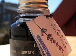 法国 J.Herbin 墨水 带香味钢笔水 蓝色,文具,