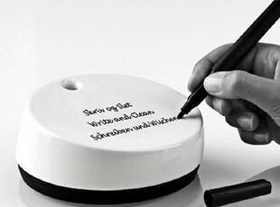 丹麦Stelton 环保留言石 办公购物备忘便签记录 商务办公礼品,文具,