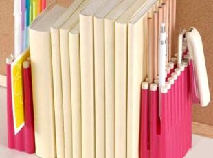 聚可爱♥书夹书靠书立 韩国创意书挡 多用笔筒书立书靠,文具,