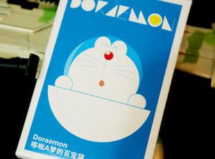 思迈数码 盒装明信片卡片哆啦A梦的百宝袋送我一扇任意门吧30张入,文具,