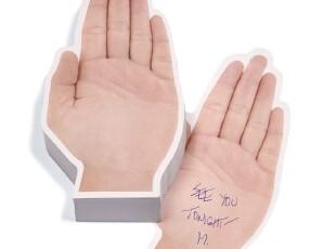 【纽约下城公园】  手掌便签,文具,