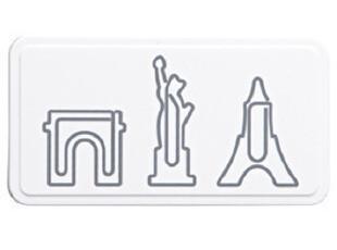 MUJI/無印良品/北京专柜代购 造型回形针/城市造型NEW YORK 特价,文具,