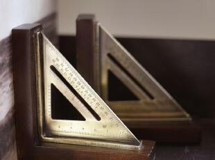 【纽约下城公园】 精美三角板书档/书立,文具,