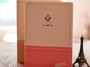 zaa杂啊 A cake日韩可爱笔记本 单行线记事本 学生作业本文具 32k,文具,