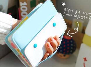 C大调♥Eno 韩国文具 可爱拎包式皮面 创意笔记本记事本 日记本子,文具,