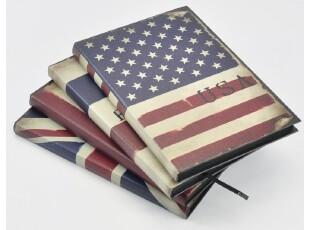 国旗韩国款复古欧式记事本日记本笔记本子联华清新创意韩版文具,文具,