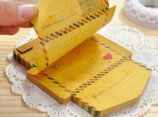 锦一?文具韩国 超特价 复古 英伦小 信封  便签本 便签纸 便签,文具,