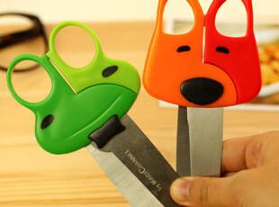 【满39包邮】韩国文具 手工 直剪刀 卡通动物 超可爱 学生安全剪,文具,