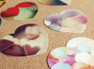 有爱情经过……  lomo心形卡|留言卡|贺卡 40枚入,文具,