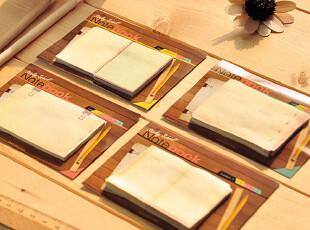 三年二班●创意文具 时尚可爱 浪漫课堂 复古N次贴 便利贴 便签本,文具,