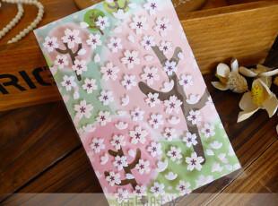 ●韩国直送 浪漫樱花 DIY必备 装饰贴纸|布艺贴纸|花朵造型贴纸,文具,