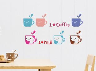 『韩国进口家居』mc1567 我就喜欢*I LOVE 墙贴/贴纸,文具,