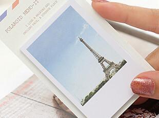 特! 韩国文具 便签纸 可爱小本子 创意礼品 世界风景N次贴,文具,