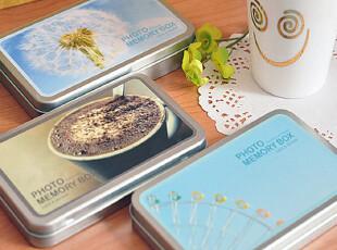 三年二班●LOMO风格 铁盒卡片 贴纸套装-经典款 3款,文具,