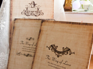 【满6件包邮】the way of love爱的歌颂 单线横隔作业笔记本4款选,文具,