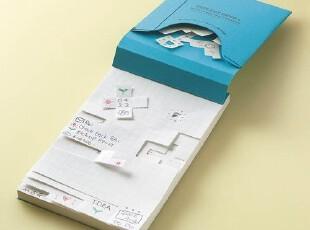 日本国誉┃TidbiT自由撕DIY便条纸┃A7 B7 A6,文具,