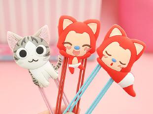 出口日本 创意文具 可爱起司猫阿狸轻松熊 超大回形针书签,文具,