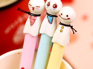 【满39包邮】韩国文具 晴天娃娃 晴雨娃娃 微笑心情 圆珠/中性笔,文具,