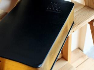 1502-初品 圣经烫金边 皮质封皮 白页本 字典本 日记本 涂鸦本,文具,