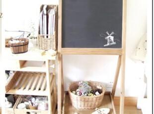 BaoZakka 杂货 日单 原木窄架式黑板 展示 花架式黑板 写字板,文具,