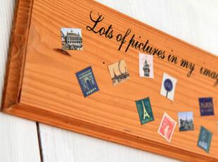 复古邮票贴纸 装饰贴画 80小枚入,文具,